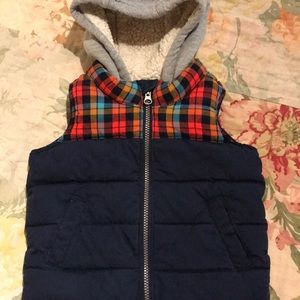 Old Navy Hooded Puffer Vest 2T